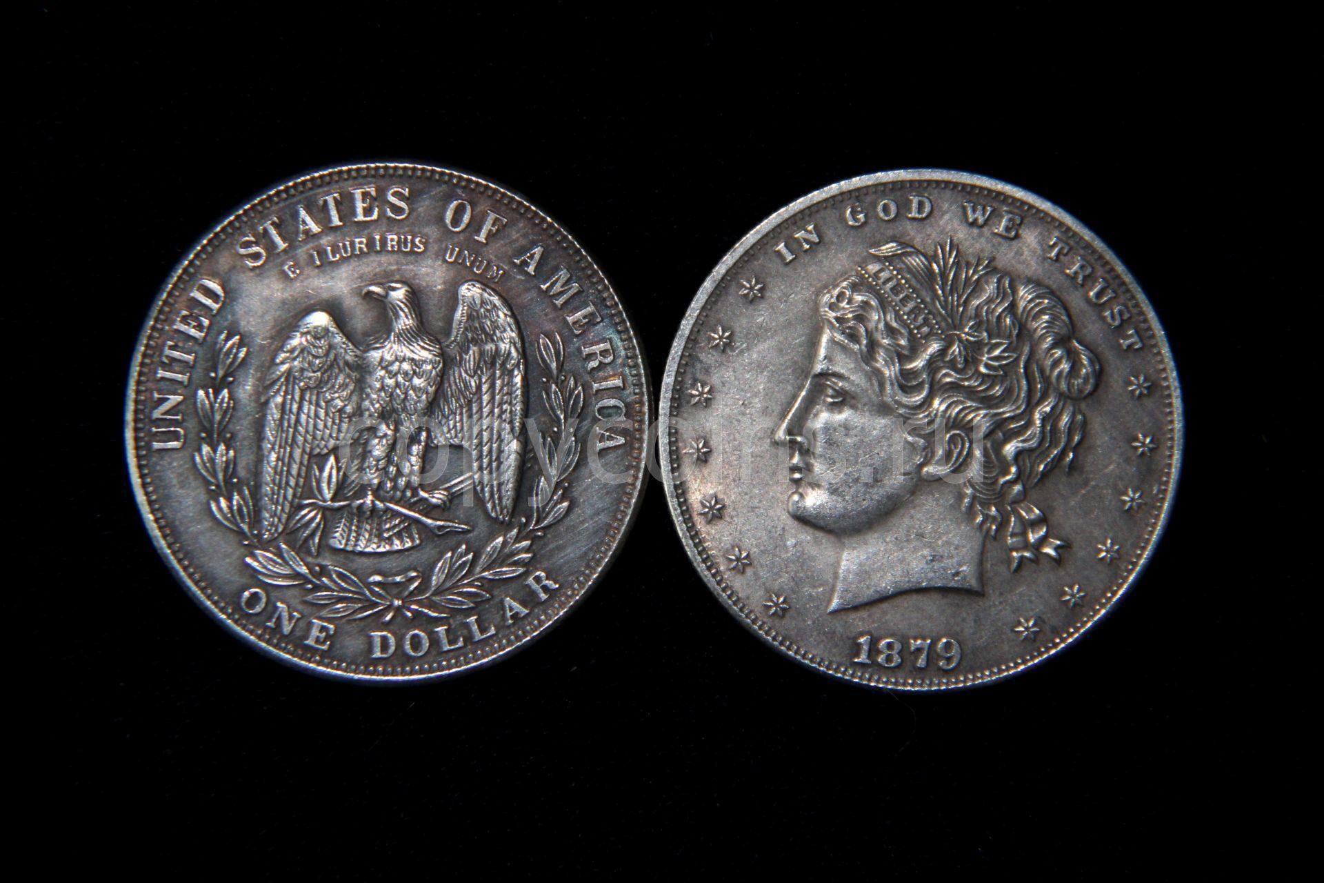 one dollar coin 1879 e pluribus unum