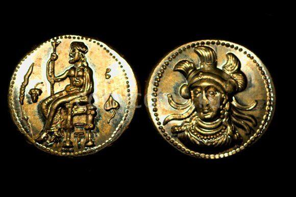 Древнеримаская монета №7 бронза