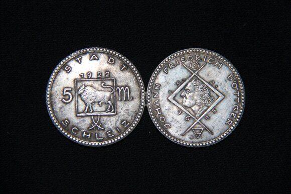 5 марок 1922 года Гемания