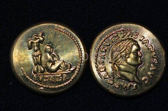 Древнеримаская монета №11 бронза