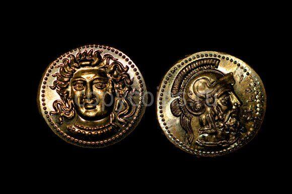 Древнеримаская монета №10 бронза